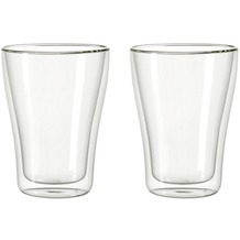 Leonardo 2er Set Becher Duo doppelwandig 250ml