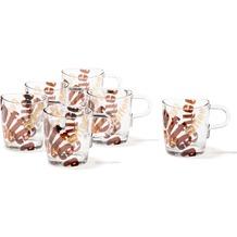 Leonardo Set 6 Kaffeetasse 3 farbig Loop