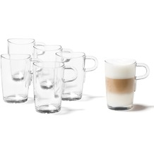Leonardo 6er Set Latte Macchiato Tasse Loop