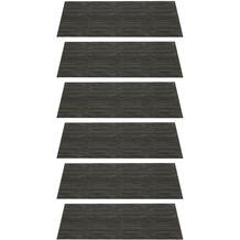 Leonardo Platzset 35 x 48 cm schwarz meliert