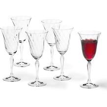 Leonardo 6er Set Rotweinglas Volterra