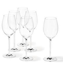 Leonardo 6er Set Rotweinglas Cheers