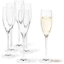 Leonardo Set 6 Sektglas Cheers