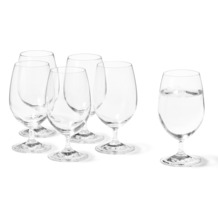 Leonardo Set 6 Wasserglas Daily MIT GRAVUR (z.B. Namen)