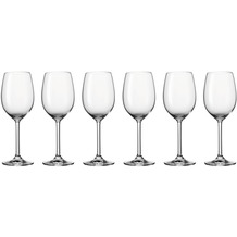 Leonardo Set 6 Weißweinglas Daily MIT GRAVUR (z.B. Namen)