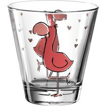 Leonardo Trinkglas BAMBINI 6er-Set 215 ml Flamingo