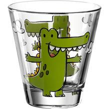Leonardo Trinkglas BAMBINI 6er-Set 215 ml Krokodil