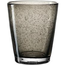 Leonardo Trinkglas BURANO 6er-Set 330 ml dunkelgrau