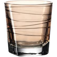 Leonardo Trinkglas VARIO 6er-Set 250 ml braun
