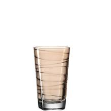 Leonardo Trinkglas VARIO 6er-Set 280 ml braun