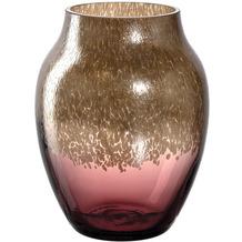 Leonardo Vase Poesia 16 cm burgunder/gold mehrfarbig