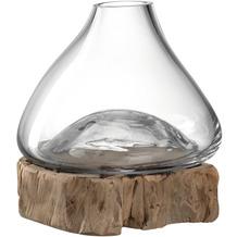 Leonardo Vase CASOLARE 21 cm auf Holz breit