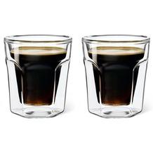 Leopold Vienna Doppelwandiges Glas Espresso, 2er Set