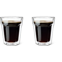 Leopold Vienna Doppelwandiges Glas Kaffee, 2er Set