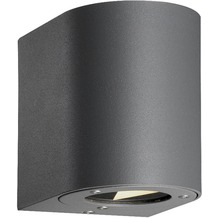 Licht-Trend LED-Wandlampe IP44 / + Lichtfilter / 2x3W / grau!