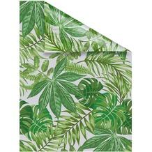 Lichtblick Fensterfolie selbstklebend, Sichtschutz, Blätter - Grün Breite: 100 cm, Länge: 100 cm