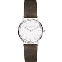 Liebeskind Damenuhr 30mm LT-0090-LQ calf mit Lederarmband Damen Uhr Leder Armbanduhr