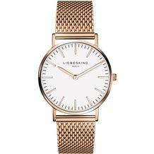 Liebeskind Damenuhr LT-0077-MQ Uhr Damen Armbanduhr Farbe: Rosegold
