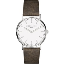Liebeskind Damenuhr LT-0086-LQ calf mit Lederarmband Damen Uhr Leder Armbanduhr