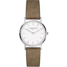 Liebeskind  Damenuhr LT-0087-LQ calf mit Lederarmband Damen Uhr Leder Armbanduhr