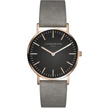 Liebeskind Damenuhr LT-0094-LQ Rindsleder mit Lederarmband Damen Uhr Leder Armbanduhr