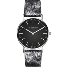 Liebeskind Damenuhr LT-0100-LQ Rindsleder mit Lederarmband Damen Uhr Leder Armbanduhr