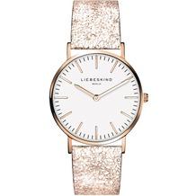 Liebeskind Damenuhr LT-0101-LQ Rindsleder mit Lederarmband Damen Uhr Leder Armbanduhr