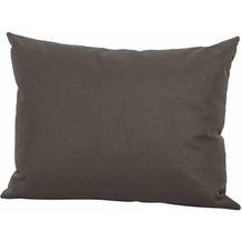 LIFE Dekokissen 35x45 cm, Allwetter carbon Alltwetter-Bezug, soft touch carbon