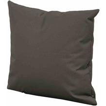 LIFE Dekokissen 45x45 cm, Allwetter carbon Alltwetter-Bezug, soft touch carbon