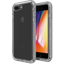 Lifeproof NËXT für Apple iPhone 7 Plus, 8 Plus, Back Cover, durchsichtig, beach pebble