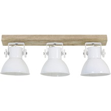 Light & Living Hängeleuchte  ELAY Holz naturel+weiß