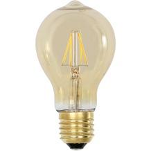 Light & Living LED Kugel Ø6x11 cm LIGHT 2W Bernsteinfarbe E27