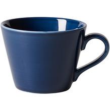 like Organic Dark Blue Kaffee-Obertasse blau