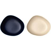 like Organic EC Dark Blue Sand Set Suppenteller 2tlgEC blau,beige