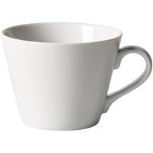 like Organic White Kaffee-Obertasse weiß