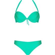 LingaDore BAHAMA, Halterneck bikini set, grün 36A