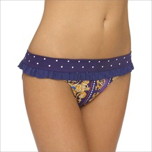 LingaDore CROWN JEWELS Brief with Ruffles, prin 44