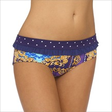 LingaDore CROWN JEWELS Short with Ruffles, prin 40