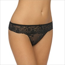 LingaDore DAILY LACE String, blac XS
