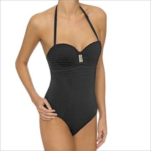 LingaDore DOMENICA Swimsuit, blac 42D