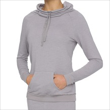 LingaDore LEAH, Jogging Top langärmelig, graumöwenfarben M