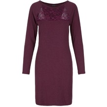 LingaDore MOONLIGHT/FIZZ-BERRY Dress L/S Crushed Berry L