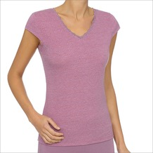 LingaDore YSHA T-Shirt Print, pupr XS