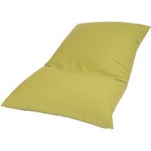 linke licardo Bodenkissen Baumwolle grün 80/130 cm