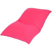linke licardo Bodenkissen Baumwolle pink 80/130 cm