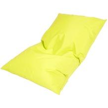 linke licardo Bodenkissen Nylon gelb 80/130 cm