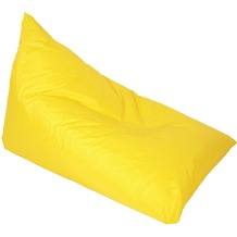 linke licardo Chillkissen Nylon gelb 70/100 cm