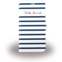 Little Marcel Folio Marin - BookCover für Apple iPhone 6/6S, weiß/blau