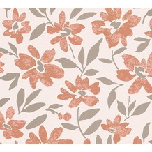 Livingwalls florale Mustertapete Moments Vliestapete beige creme metallic 328334 10,05 m x 0,53 m