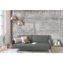 Livingwalls Fototapete Designwalls Concrete Wall braun grau taupe DD118750 3,50 m x 2,55 m